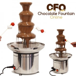 4 tiers Catering Chocolate Fountains