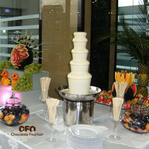 5 tiers CFO Chocolate fondue fountain for sale