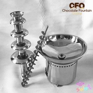 CF30A Commercial Fountain with Stainless Steel Auger & Tiers