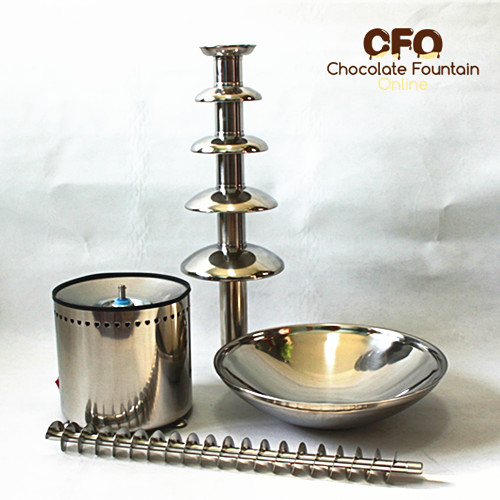 CFO 5 tiers chocolate fountain