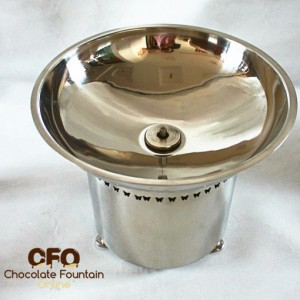 Chocolate Fountain Machine Stainless Steel Base & Basin