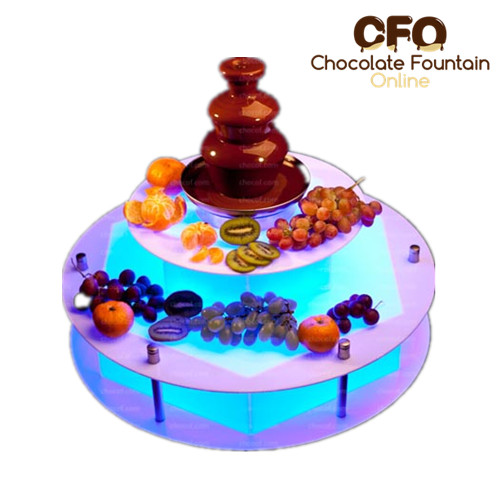 Chocolate Fountain Surround Led Base