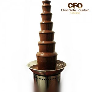 CF42A Large Size Commercial Chocolate Fountain machine for Sale