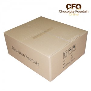 CF42A Large Size Commercial Chocolate Fountain machine packing