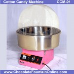 CCM01 Candy Floss  Machine with Lid