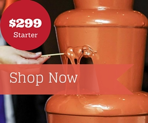 Chocolate Fountains amaze your guests in any party as Dessert Buffets