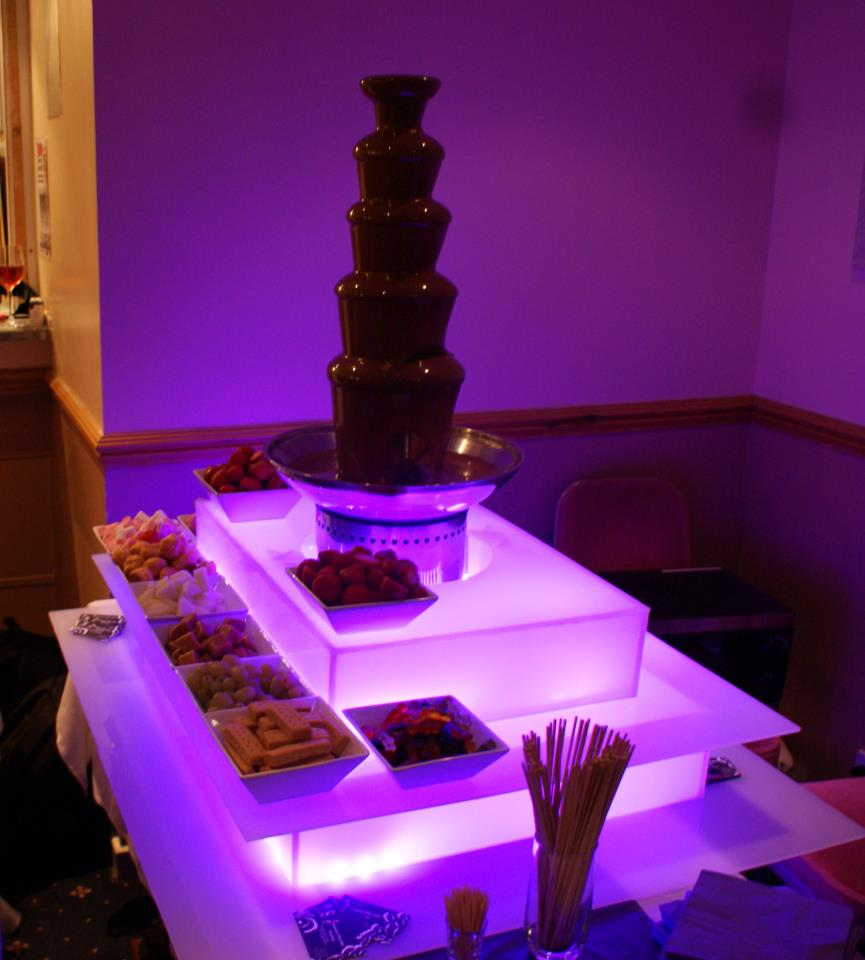 Chocolate Fountain For Desserts At Events A Wedding Reception