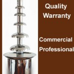 Large 7 tiers Commercial Chocolate Fountain