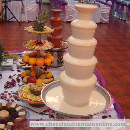 medium sized chocolate fountain