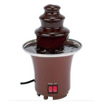 cf17a small plastic chocolate fountain buy for happy birthday party. Black Bedroom Furniture Sets. Home Design Ideas