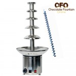 CF32A 5 tiers commercial fountain with stainless steel auger