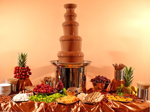 Commercial choco Fountain CF44B