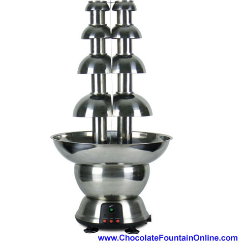 Stainless Steel Double Chocolate Fountain