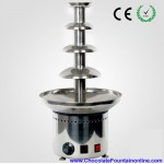 4 tiers Chocolate Fountain Machine