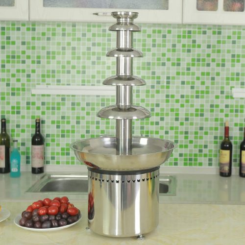 CF30A 5 tiers Commercial Chocolate Fountain for sales