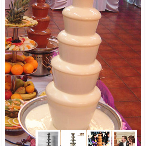 Medium chocolate fountains