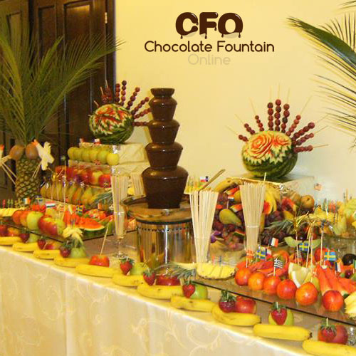 CF30A CFO Small 5 tiers Commercial Chocolate Fountain to Buy
