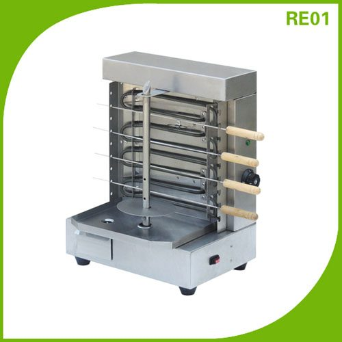 Electric Home Skewers Kebab Doner Shawarma Machine Grill RE01