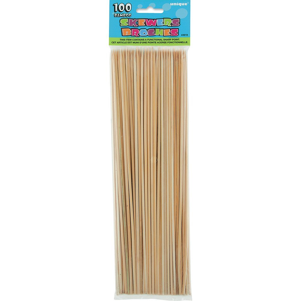 Bamboo skewers for dipping bbq for Where to buy bamboo sticks for crafts